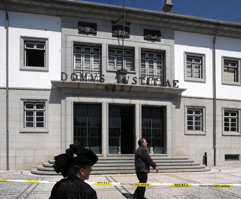 Desabamento do tribunal de Fafe