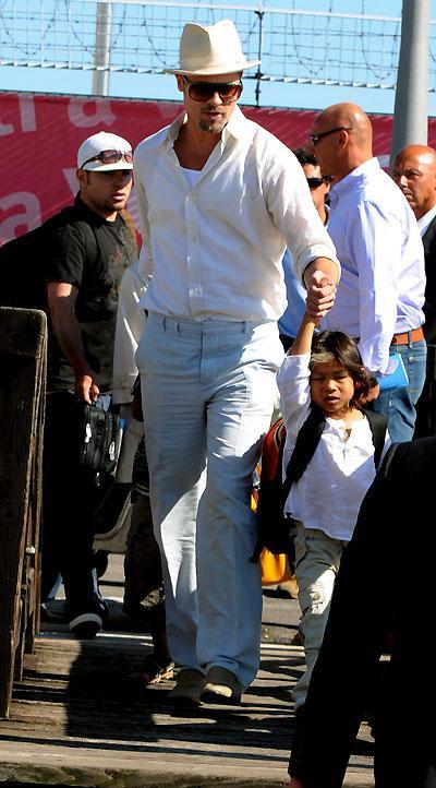 Brad Pitt em Veneza