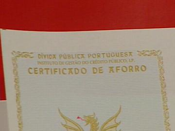 Certificados de Aforro