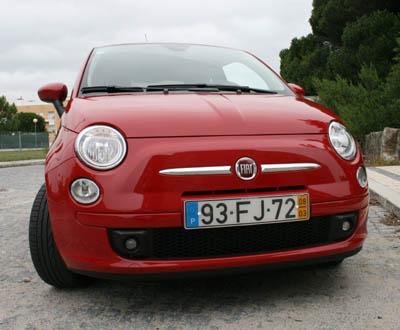 Ensaio ao Fiat 500 1.4 16v Sport