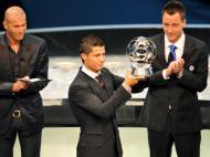 UEFA: Cristiano Ronaldo eleito melhor jogador do ano