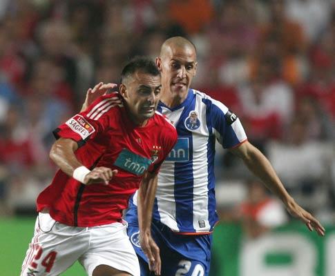 Carlos Martins com Tomás Costa