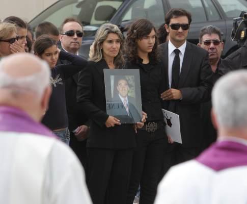 Funeral de presidente de «Os Mosqueteiros»