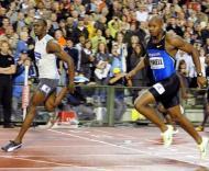 Bolt bate Powell em Bruxelas