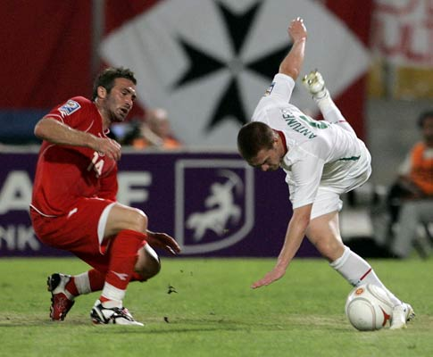 Antunes e Kevin Sammut, Malta vs Portugal