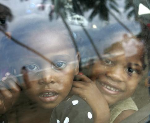Evacuação na República Dominicana devido ao Ike