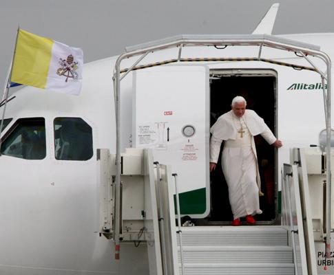 Visita do Papa a França
