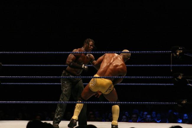 Smackdown/ECW Live Tour no Pavilhão Atlântico (foto: Hugoafsilva)