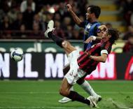Maldini e Mancini, Milan vs Inter