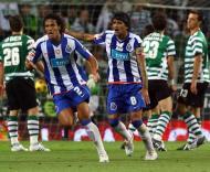 Bruno Alves e Lucho, Sporting vs F.C. Porto