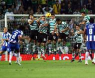 Bruno Alves marca, Sporting vs F.C. Porto