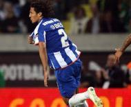 Bruno Alves festeja, Sporting vs F.C. Porto