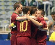 Festa da Selecção Nacional de Futsal no Campeonato do Mundo