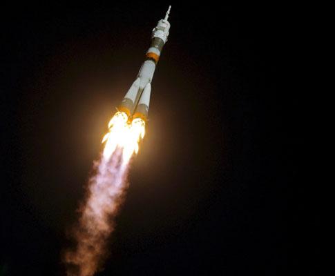 Uma viagem milionária ao espaço (fotos)