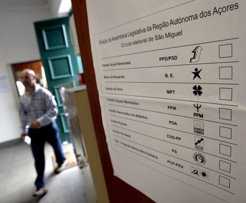 Eleições nos Açores
