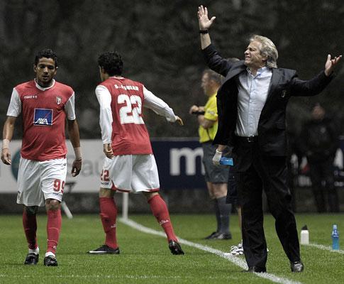 Jesus e o Benfica: «Só sei que quero chegar ao 3º lugar»