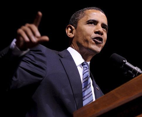 Barack Obama em campanha