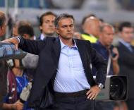 Mourinho «com cara de poucos amigos»
