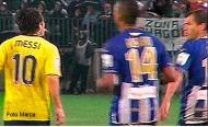 Messi, Duda e uma alegada cuspidela