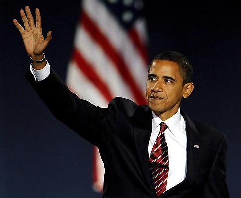 Obama, o novo presidente dos EUA