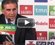Queiroz fala do Brasil-Portugal e da selecção PLAY_VIDEO