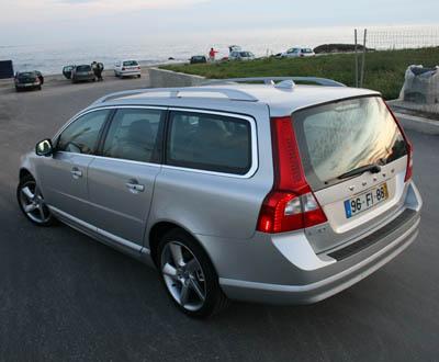 Ensaio à Volvo V70 2.0D