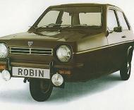Reliant Robin, o carro que é castigo para David James