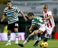 Sportig-Leixões: Rochemback, Veloso e Wesley