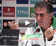 Carlos Queiroz fala sobre o Brasil-Portugal PLAY_VIDEO