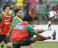 Brasil-Portugal, Danny e Nani (Foto FPF)