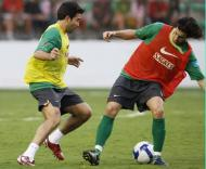 Brasil-Portugal, Tiago está de volta (Foto FPF)