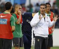 Brasil-Portugal, Queiroz explica (Foto FPF)