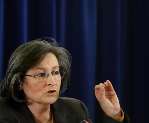 Maria de Lurdes Rodrigues, ministra da Educação