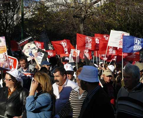 Manifestação da Função Pública (direitos reservados)