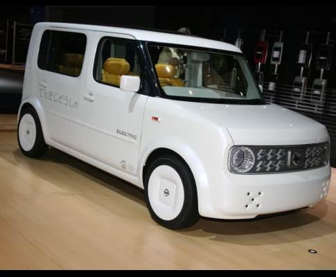 Nissan Denki Cube, o carro eléctrico