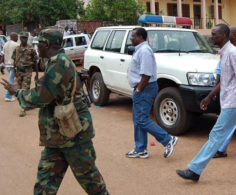 Tentativa de golpe de Estado na Guiné Bissau