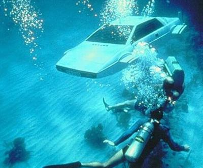 Lotus Esprit utilizado em «007 - Agente Irresistível»