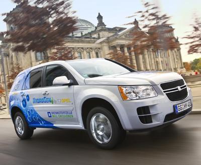 General Motors participa em projecto de hidrogénio