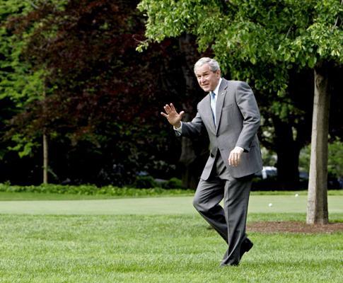 Os anos de Bush (Maio de 2008: de saída da Casa Branca a caminho do Texas)