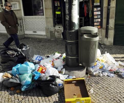 Lixo em Lisboa