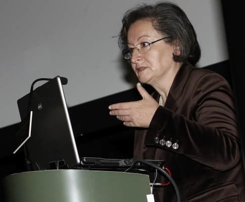 Ministra da Educação, Maria de Lurdes Rodrigues
