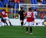 Totti, da Roma, marca frente ao Cagliari