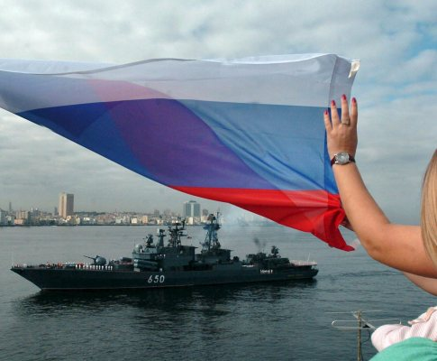 Navio de guerra russo Almirant Chabanenko