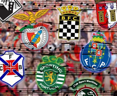 Hinos dos clubes de futebol