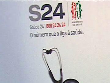 Linha Saúde 24 sem capacidade de resposta