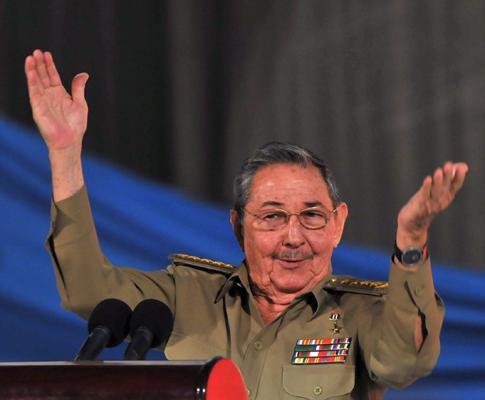 Raul Castro nos 50 anos da Revolução Cubana