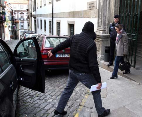 Hugo Rocha, um dos suspeitos do homicídio do segurança da discoteca «El Sonero»