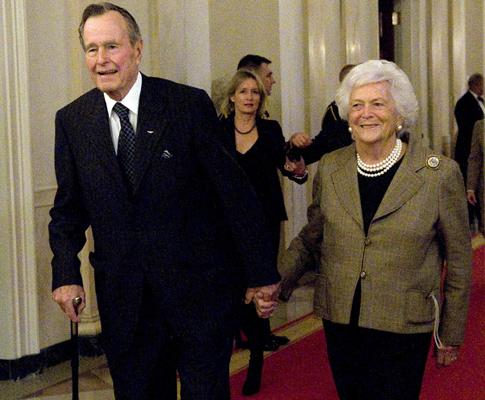 George e Barbara Bush