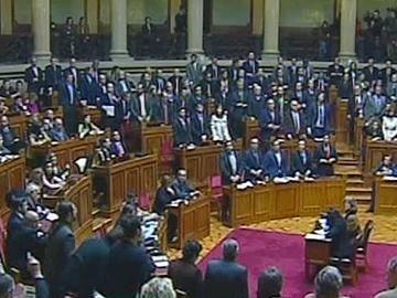Professores: Parlamento chumba suspensão da avaliação