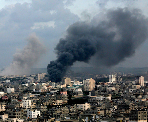 Ataques israelitas em Gaza